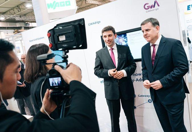 Video interview CEO's GWAdriga GmbH & Co KG, Dr. Ralfdieter Füller, Dr. Michał Sobótka