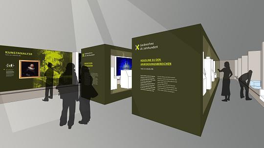 Showcase concept development and software programming Dirk Hardenbicker Röntgen Museum