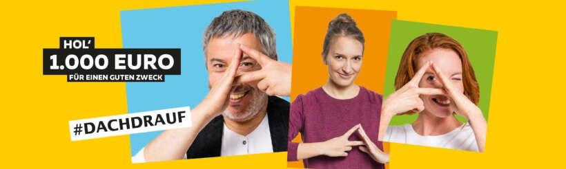 Banner Social Media Kampagne Heimatdach Dachdecker und Hauseigentümer Dachgeste